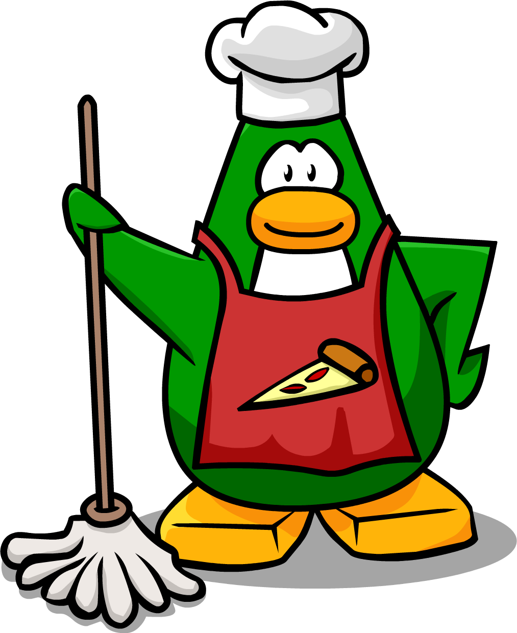 Pizza chef png. Image mission club penguin