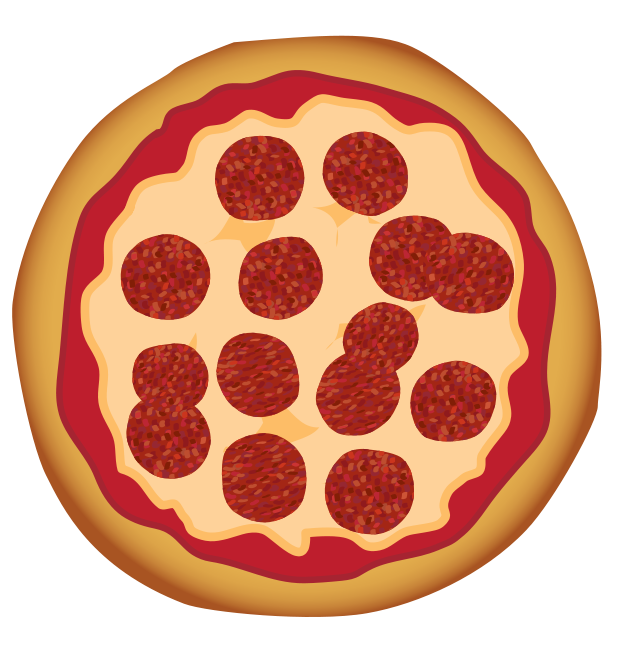 brochure vector pizza