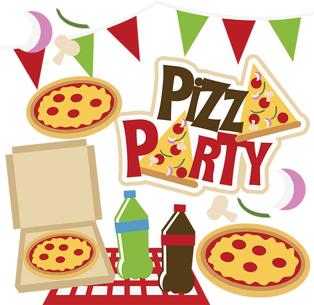 Pizza clip party. Svg collection pizzaparty pinterest