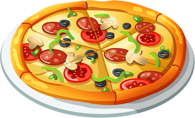 Pizza clip food. Pin by marina on