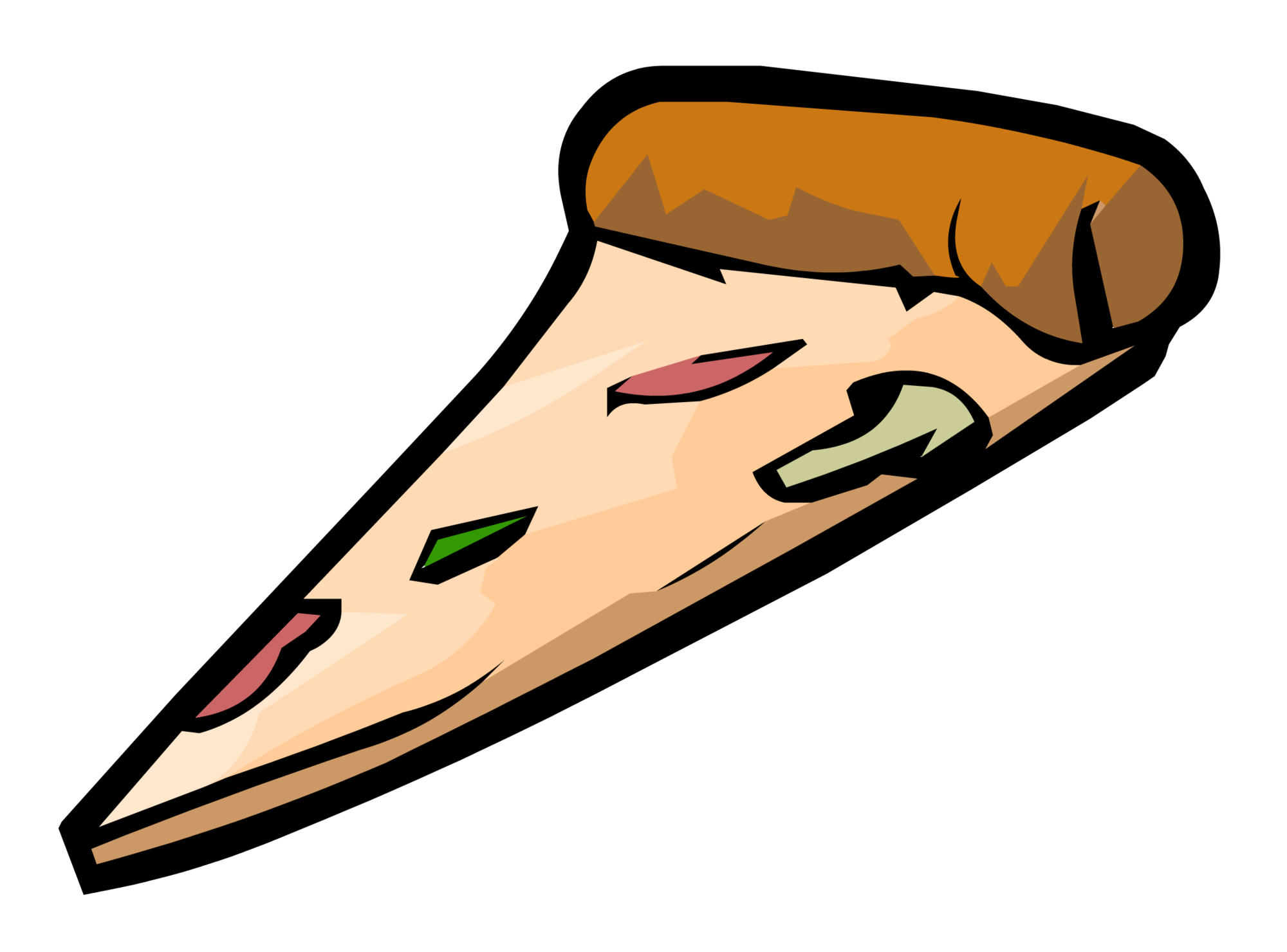 Pizza clip parlor. Image slice pin png