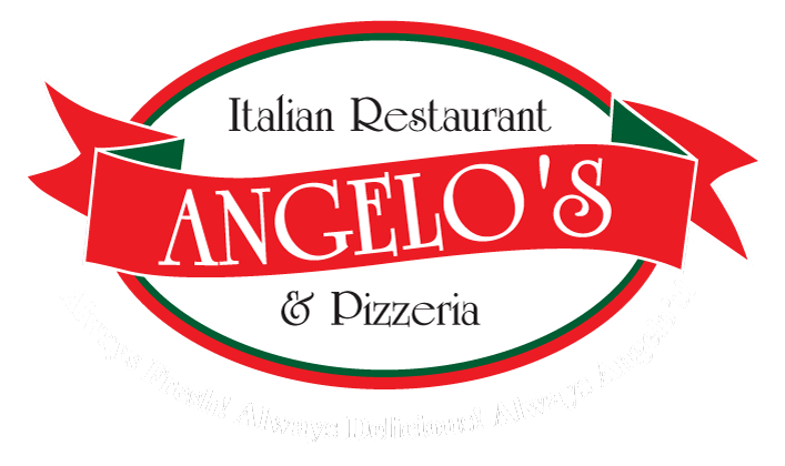 Pizza clip restaurant. Angelo s in clifton