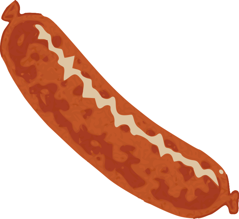 Pizza clip sausage. Collection of clipart