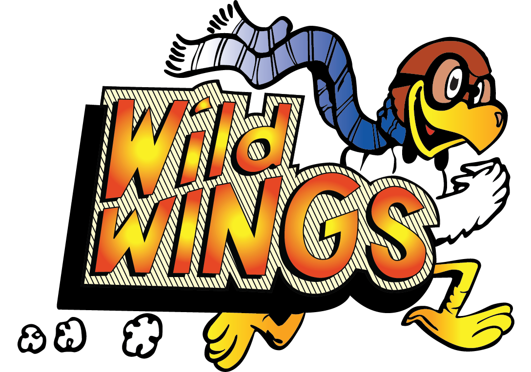 Pizza clip wing. Wild wings and