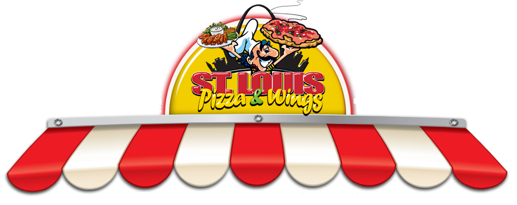 Pizza clip wing. St louis wings
