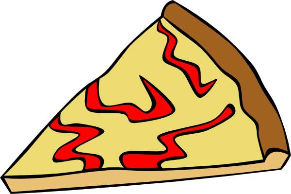 Cheese pizza cartoon png