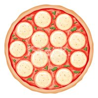 pizza clipart margherita pizza