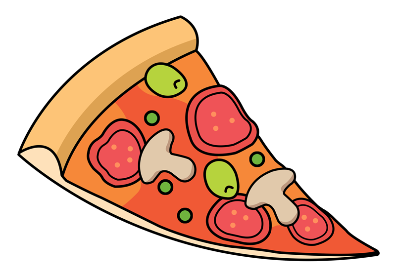Pizza clipart pizaa. Slice panda free images