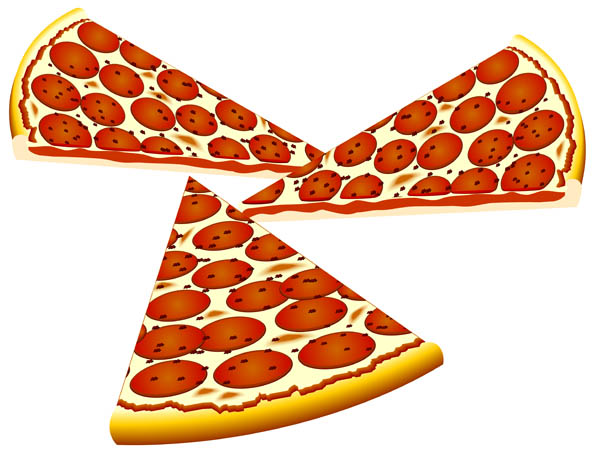 Pizza clipart sliced pizza. Images free panda