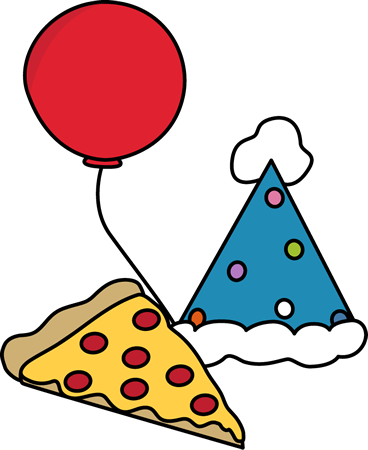 Pizza party png. Clip art image