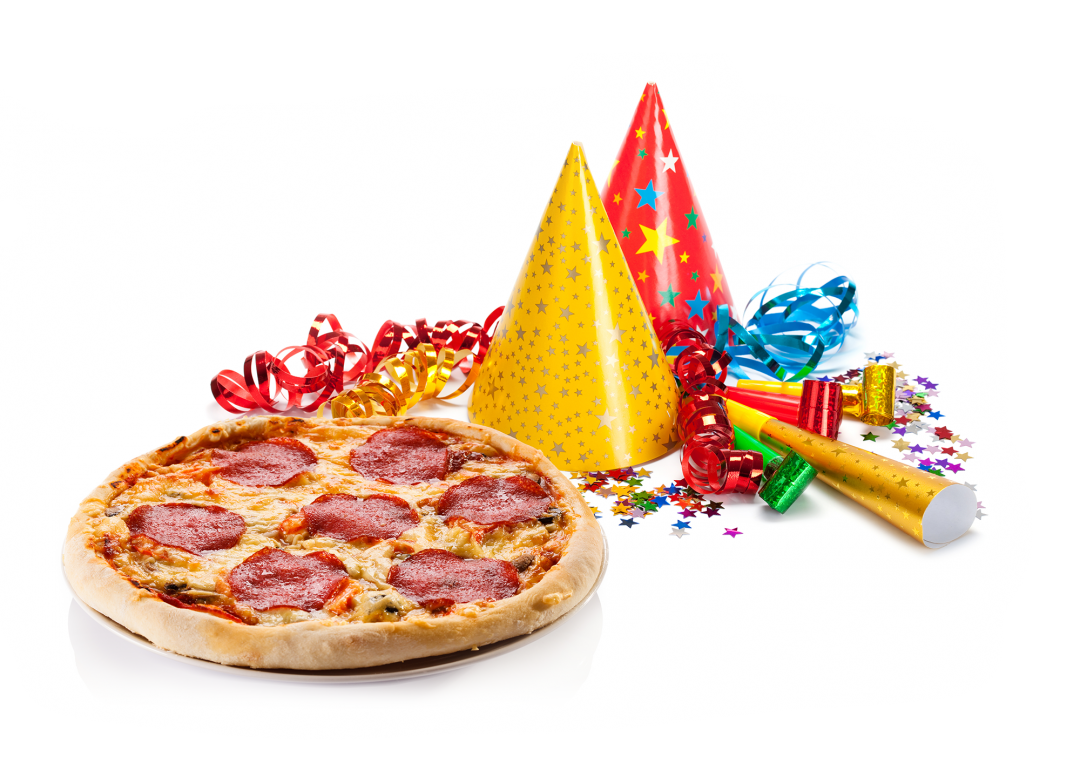 Pizza party png. Activities friar tucks packages