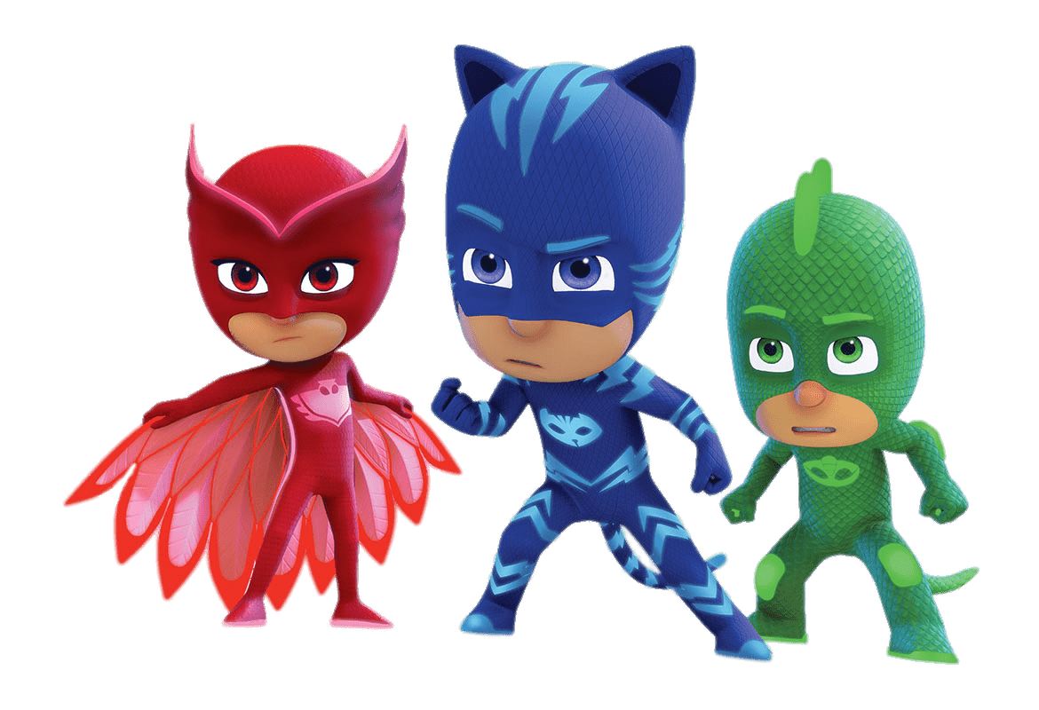 Pj mask png. Masks determined faces transparent