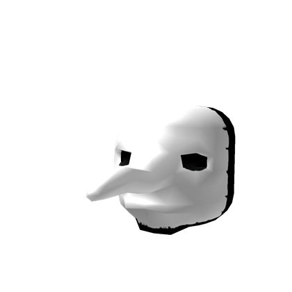Plague doctor mask png. Roblox