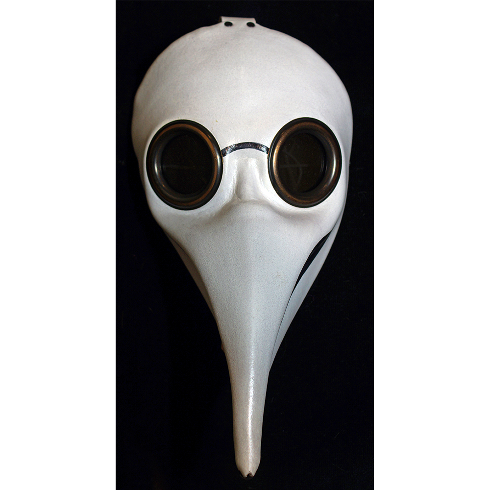 Plague doctor mask png. Commedia dell arte second