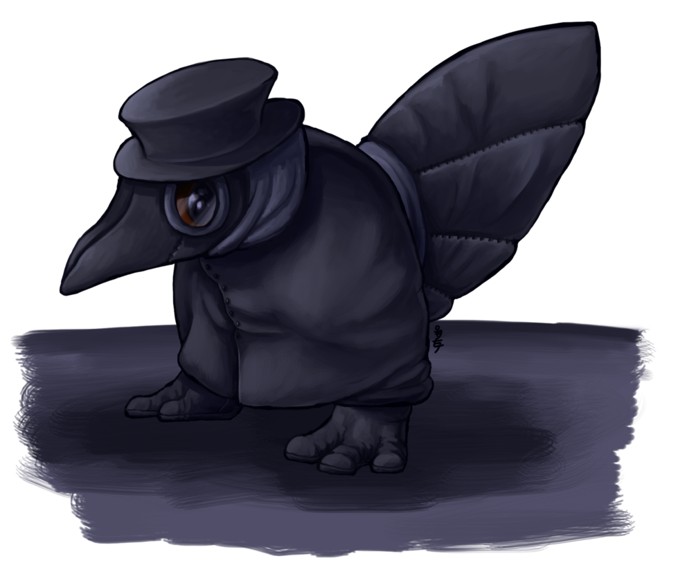 Plague doctor mask png. Cute little by nickala