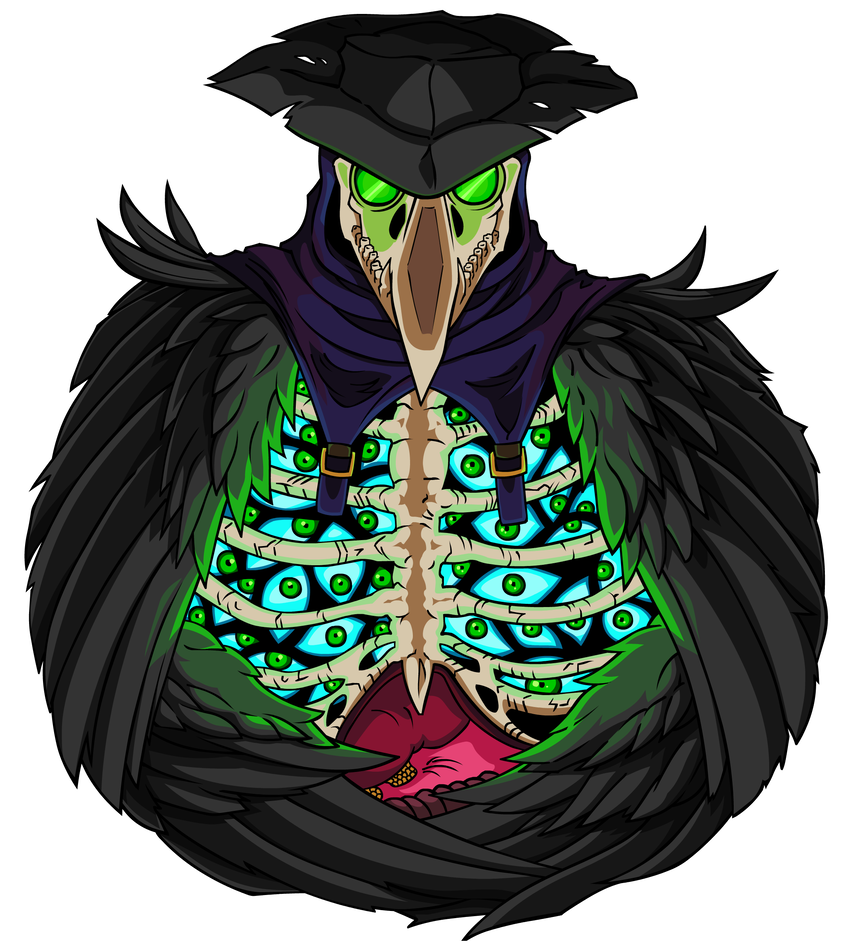 Plague doctor png. Green by empty brooke