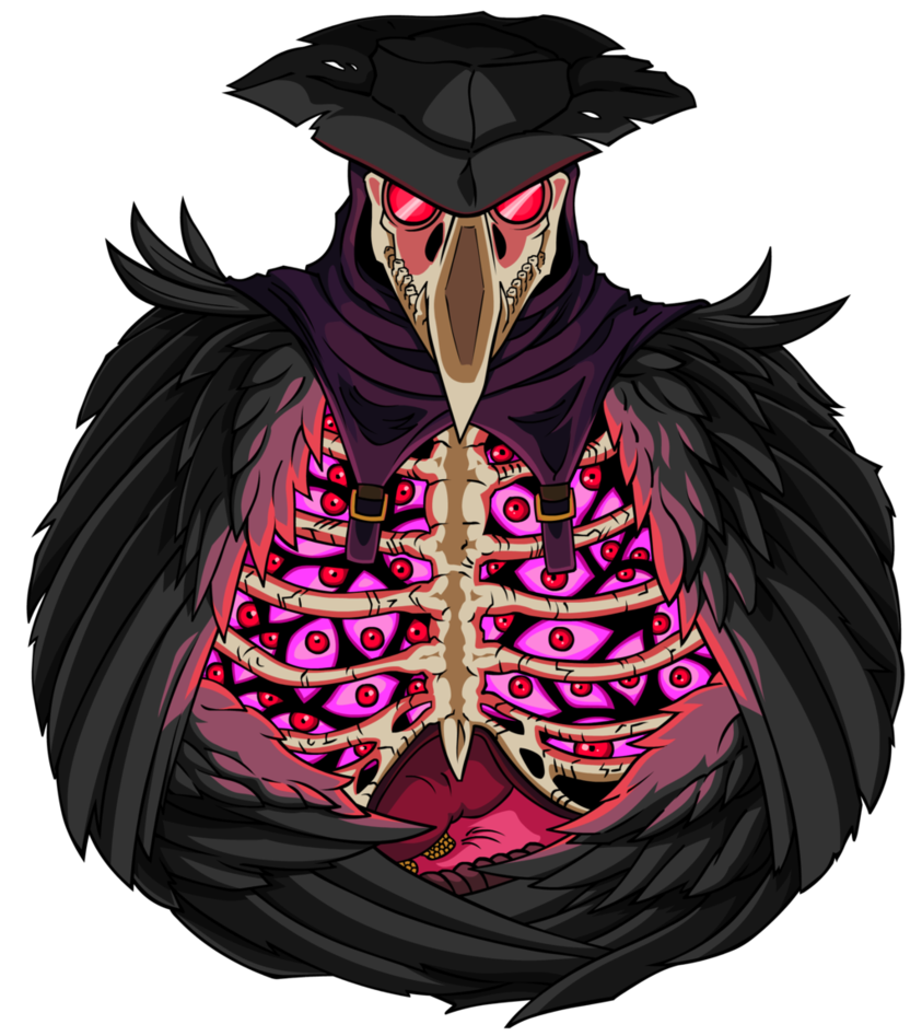 Plague doctor png. Pink by empty brooke