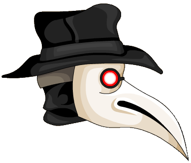 Plague doctor png. Mask hood alternative image