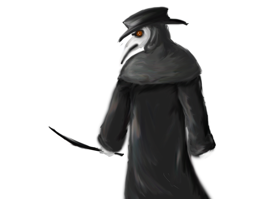 Plague doctor png. Wip by homicidalteabreak on