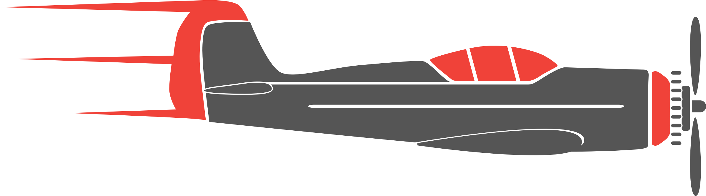 Plane banner png. Airplane flugzeug icons free