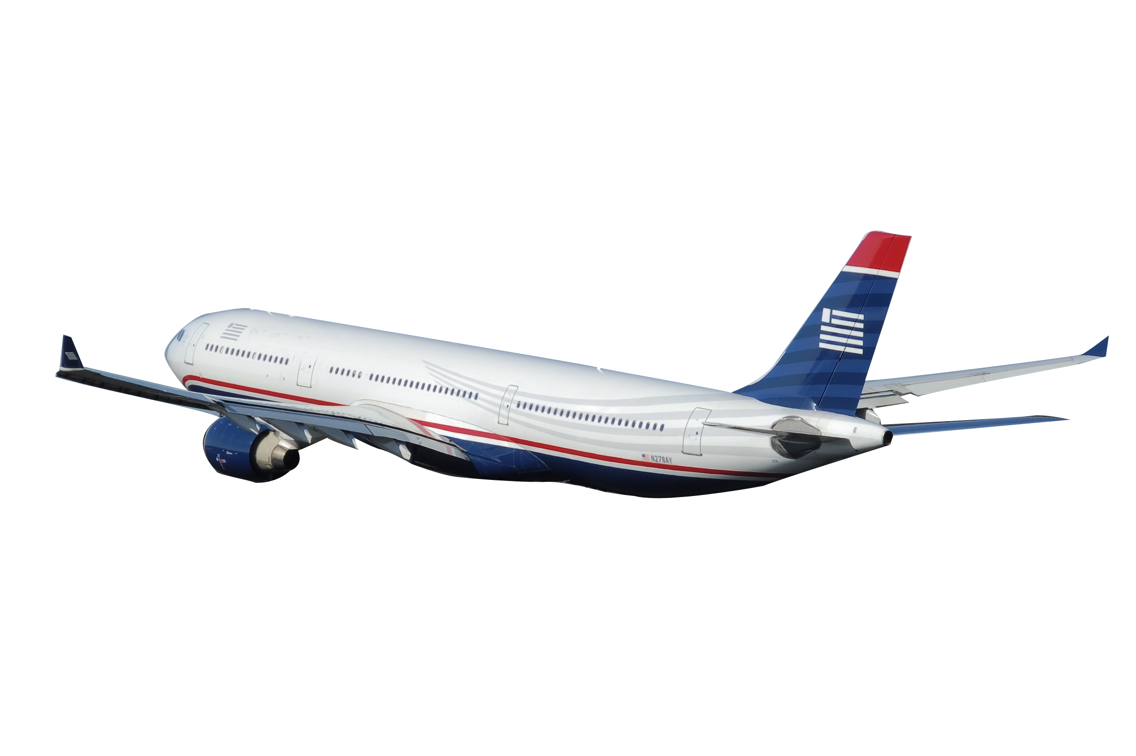 Aircraft vector airline. Airplane with banner png