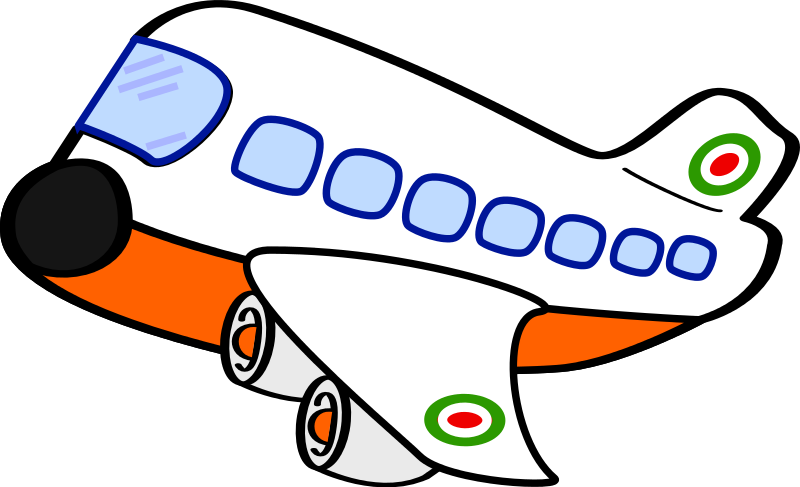 Plane cartoon png. Commercial travel air planes