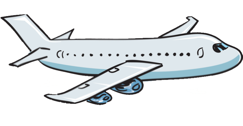 Airplane clip airline jet. Cartoon drawing at getdrawings