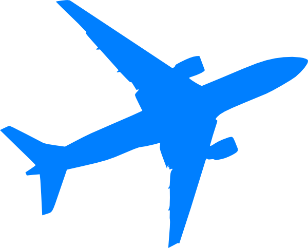 Airplane clip jet. Plane clipart black and
