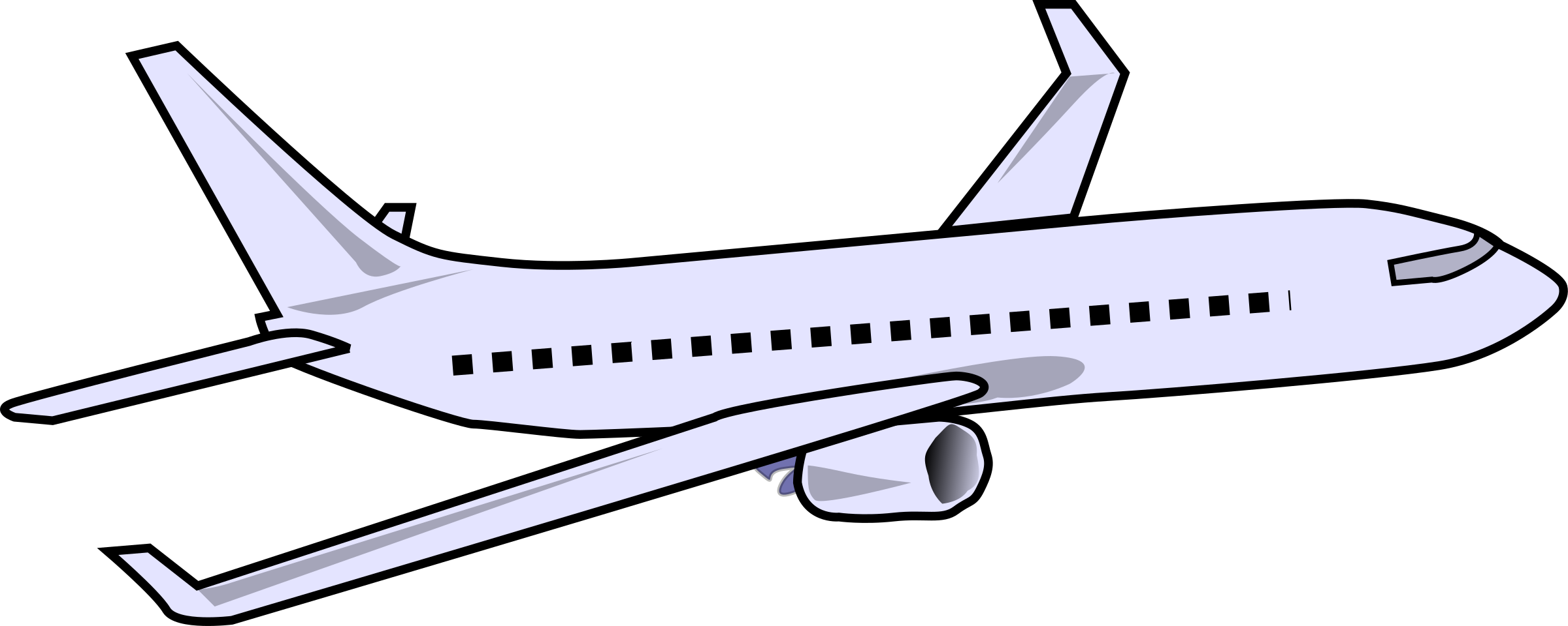 Aircraft vector passenger airplane. Jarno clipart picture of
