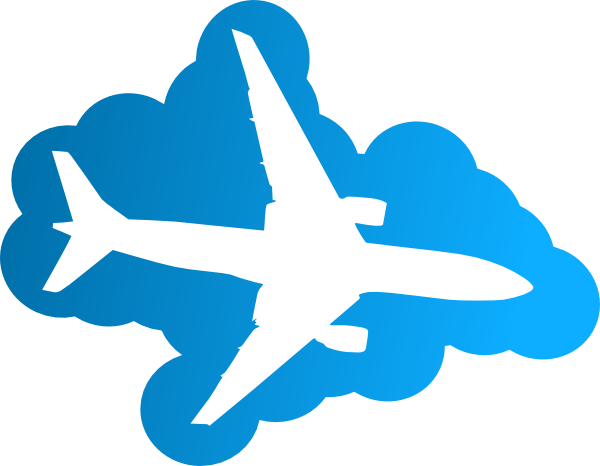 Aircraft vector cartoon airplane. Free png download clip