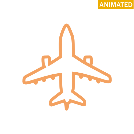 Plane svg animated. Airplane free icons easy
