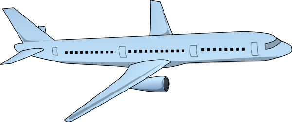 Aircraft clip at clker. Drawing airplane art vector freeuse