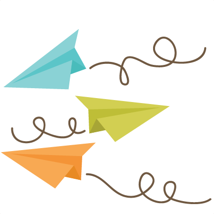 Plane svg cute. Paper airplanes files for
