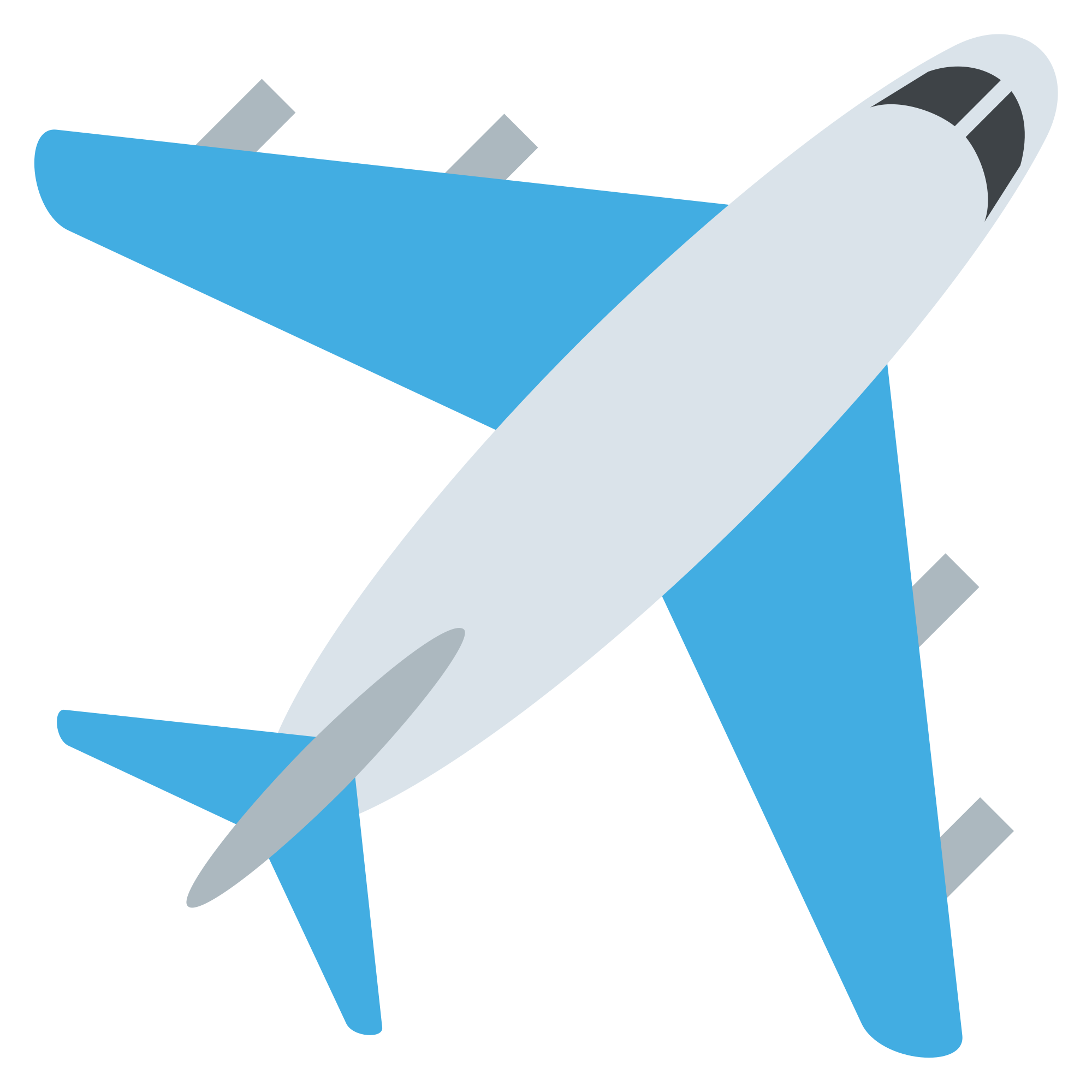 Plane svg emoticon. File emojione wikimedia commons