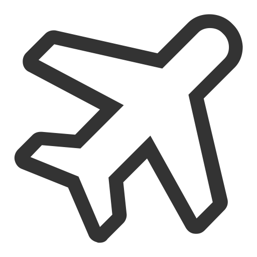 Plane svg icon transparent background. Flight with png and