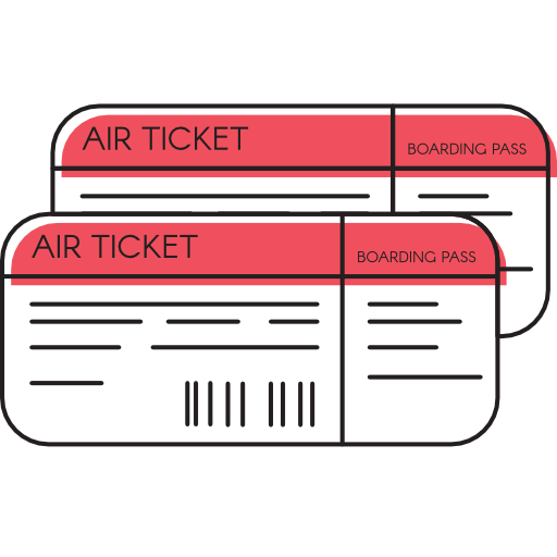 Plane ticket png. Travel tickets airfare holidays