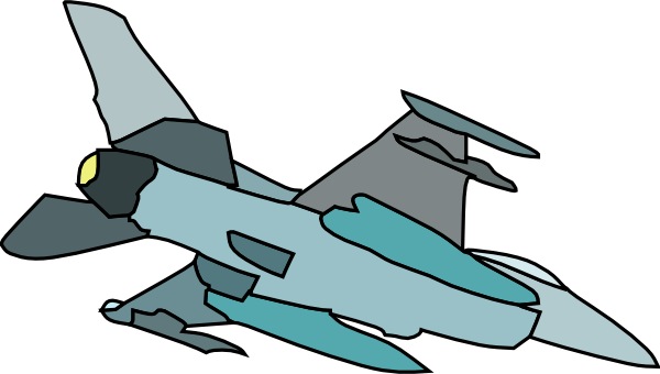 Planes drawing animated. Military fighter plane clip