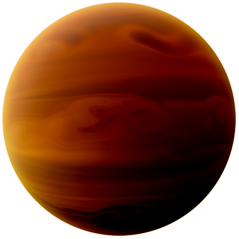 Planet art png. Gas stock by supmaite