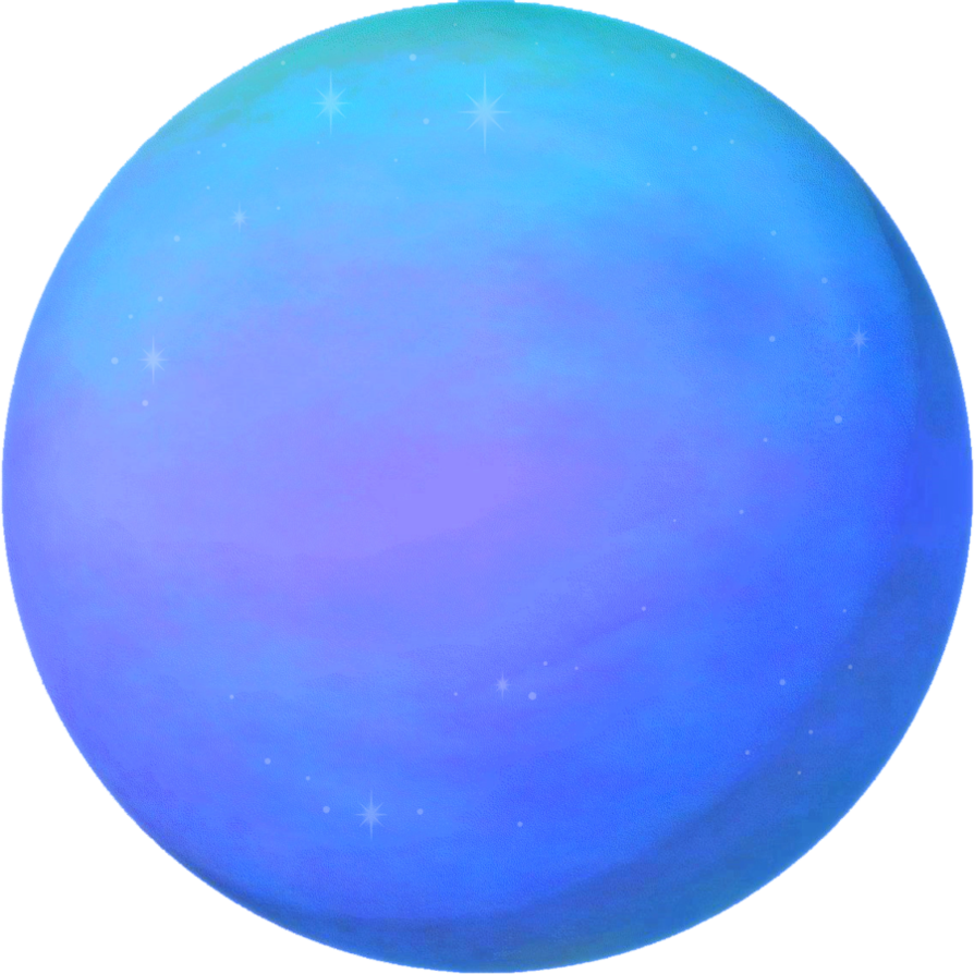 Neptune cartoon png. Planet by ravenmaddartwork on