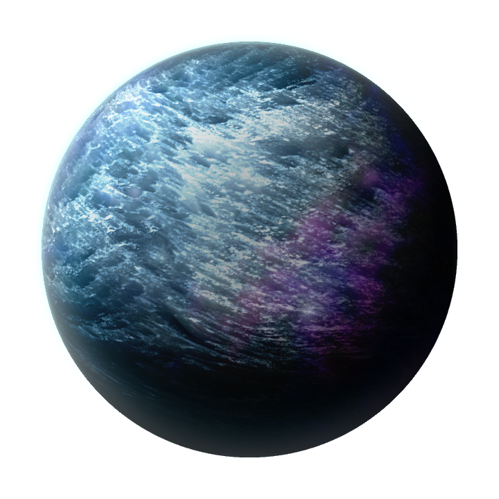 Planet art png. X ice by keizgon