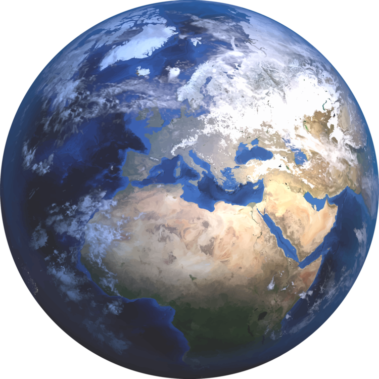 Blue marble png. Earth the desert planet