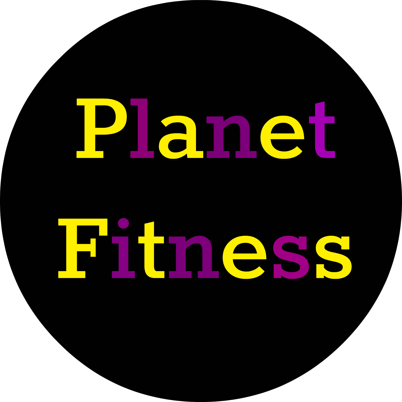Planet fitness png. Meg go run two