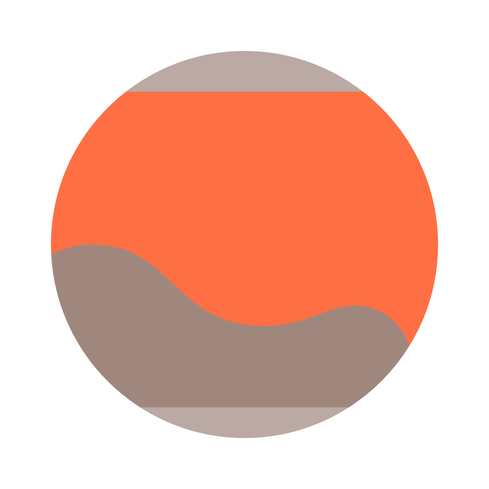 Mars vector. Planet icon free download