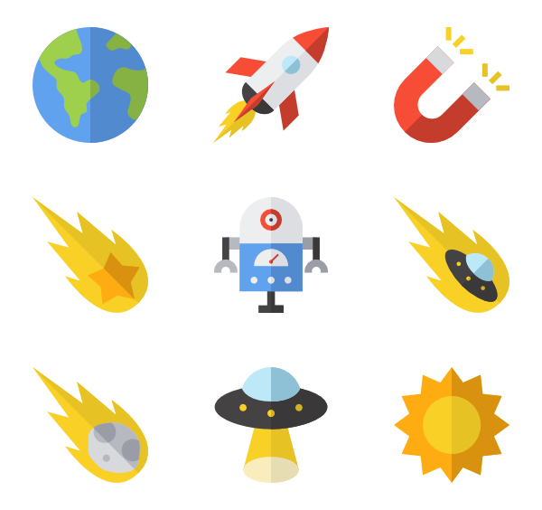 Planet icon png. Planets packs vector