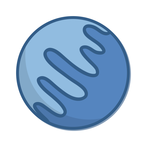 Planet neptune png. Icon free science technology
