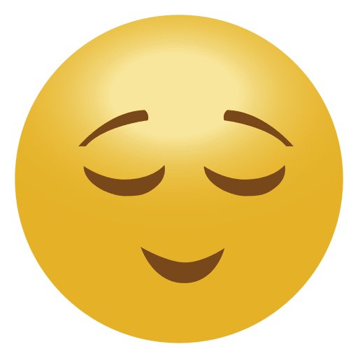 Planet svg emoji. Calm emoticon transparent png