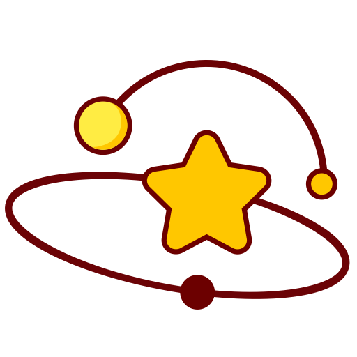 Planet svg galaxy watercolor. Orbit icon with png