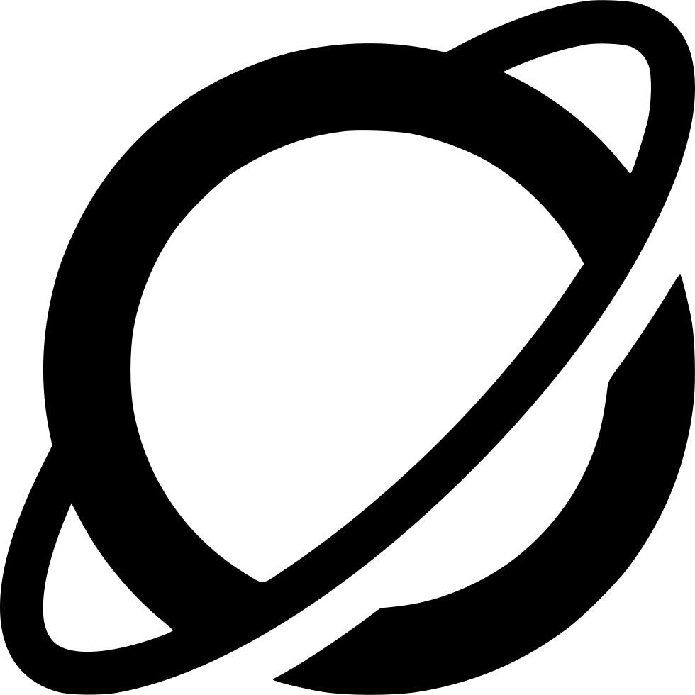 Planet svg separate. Space saturn png icon
