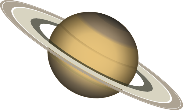 transparent saturn drawing