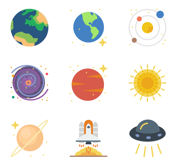 icon packs svg. Vector planet royalty free library
